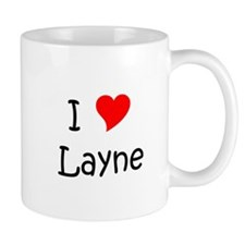 Unique I love layne Mug