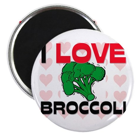 I Love Broccoli Magnet
