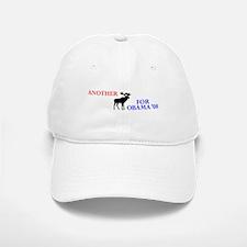 Moose for Obama '08 Baseball Baseball Cap