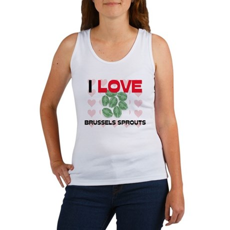 I Love Brussels Sprouts Women's Tank Top