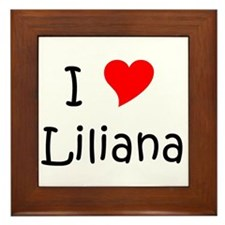 Liliana Framed Tile