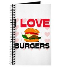 I Love Burgers Journal