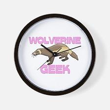 Wolverine Geek Wall Clock
