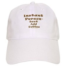 Very Funny Coffee Joke Baseball Cap