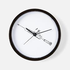 Bolt Carrier Wall Clock