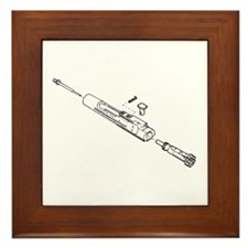 Bolt Carrier Framed Tile