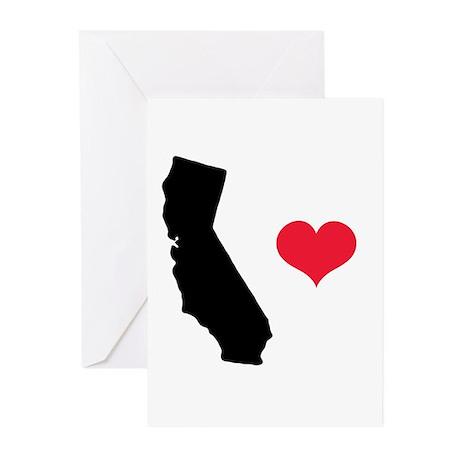 California Love Greeting Cards (Pk of 10)