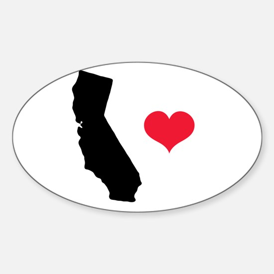 California Love Oval Decal