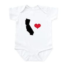 California Love Infant Bodysuit