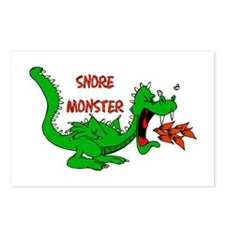 Snore Monster Postcards (Package of 8)