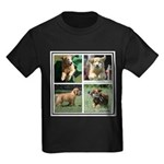 Goldens of Many Talents Kids Dark T-Shirt