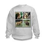 Goldens of Many Talents Kids Sweatshirt