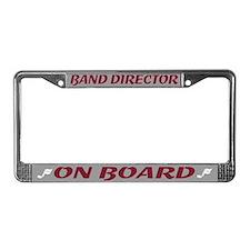 Band Director License Plate Frame