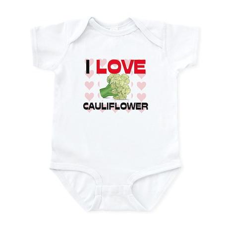 I Love Cauliflower Infant Bodysuit