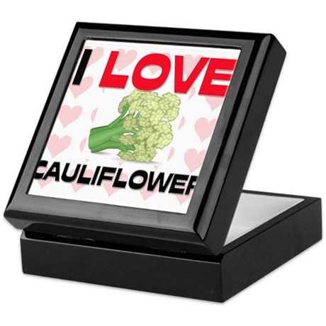 I Love Cauliflower Keepsake Box