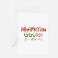 McPalin Girl Greeting Card