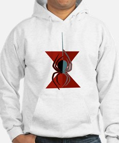 Red Hourglass Spider Hoodie