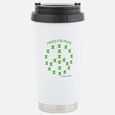 Frogs for Peace Travel Mug