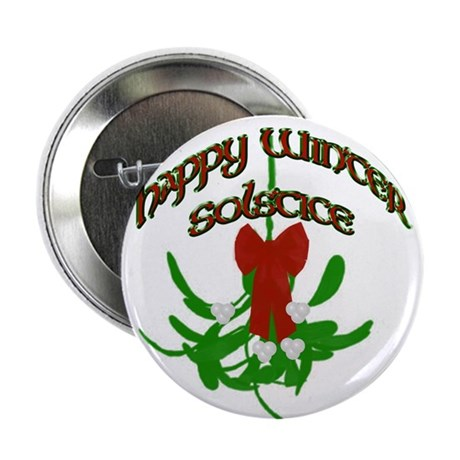 "Mistletoe 2.25"" Button (10 pack)"