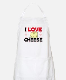 I Love Cheese BBQ Apron