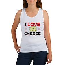 I Love Cheese Women's Tank Top