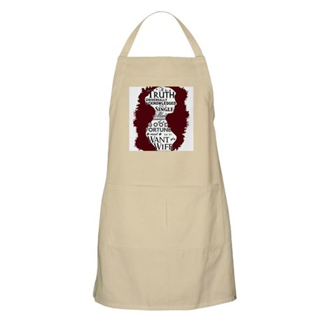 Jane Austen Quote Apron