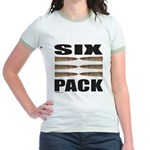 SIX PACK Jr. Ringer T-Shirt