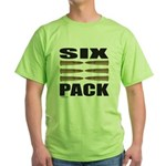 SIX PACK Green T-Shirt