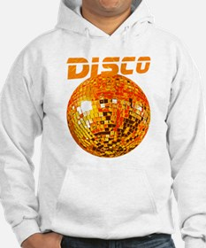 Orange Disco Ball Hoodie Sweatshirt