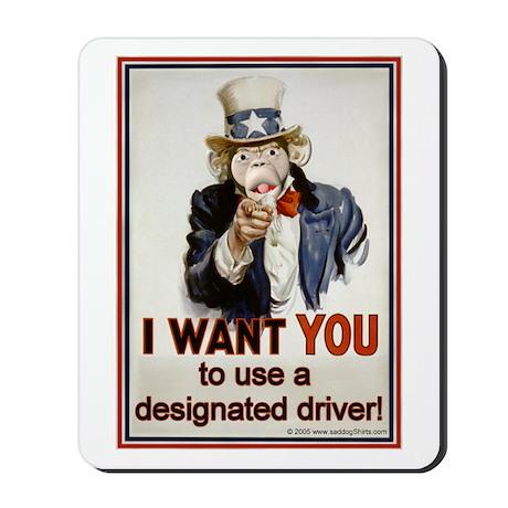 Designated Driver Mousepad