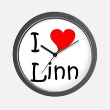 Funny Linning Wall Clock
