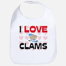 I Love Clams Bib