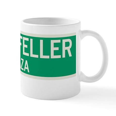 Rockefeller Plaza in NY Mug
