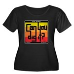 Can You Dig It? Women's Plus Size Scoop Neck Dark