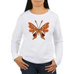 'Butterfly Tattoos Women's Long Sleeve T-Shirt