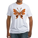 'Butterfly Tattoos Fitted T-Shirt