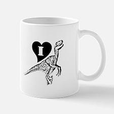 Love Velociraptors Mug