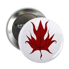 "Canadian Maple Leaf 2.25"" Button (10 pack)"