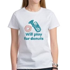 Will Play Tuba for Donuts Tee