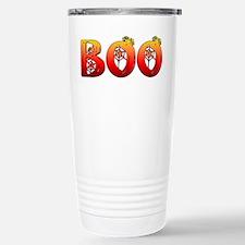 Boo Halloween T-Shirt Stainless Steel Travel Mug