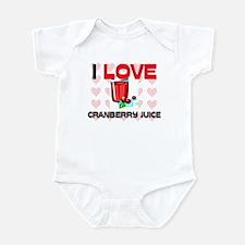 I Love Cranberry Juice Infant Bodysuit