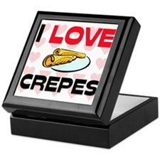 I Love Crepes Keepsake Box