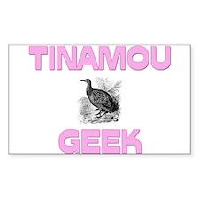 Tinamou Geek Rectangle Decal