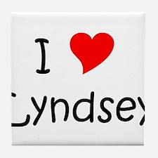 Unique Lyndsey Tile Coaster