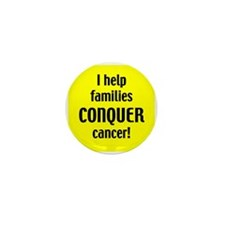 Doctor's and Nurses conquer Cancer Buttons (10 pk)