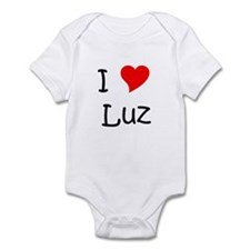 Cute I love luz Infant Bodysuit