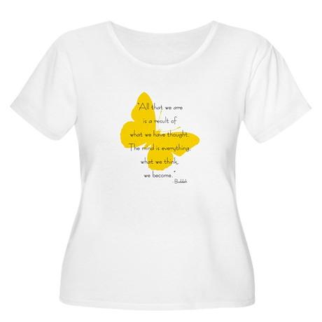 The Mind Women's Plus Size Scoop Neck T-Shirt