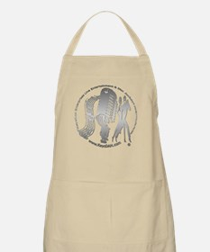 KeysDAN Logo (Brushed Metal) BBQ Apron