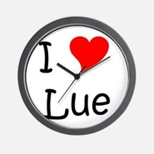 Cool Lue Wall Clock