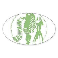KeysDAN Logo (Cactus) Oval Decal
